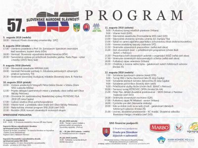 program-SNS-2018